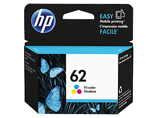 Image For HP 62 TRI COLOR