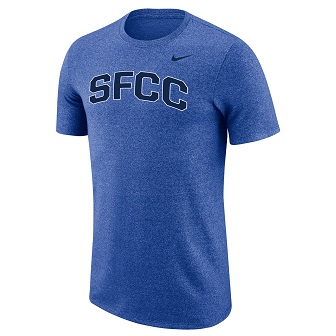 Image For NIKE MARLED SS T-SHIRT