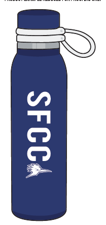 Image For SFCC H2GO SPORT BOTTLE
