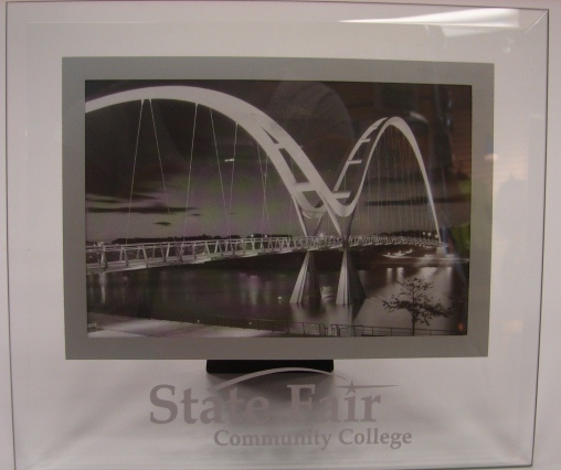 Cover Image For SFCC GLASS PICTURE FRAME